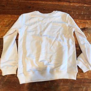 Tops - White sweatshirt